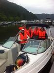RIVER and SUN, Sportbootschule, Bootsführerschein, Bootsverleih, Charterboote, bbq donut an der Mosel